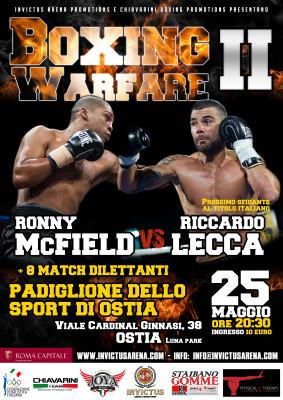 Riccardo Lecca Vs Ronny McField