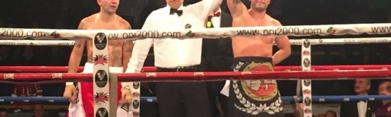 Boxe, another victory for Riccardo Lecca, in his 18th match as a pro
