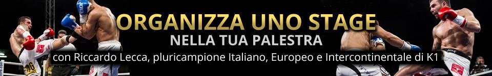 Organizza uno stage con Riccardo Lecca