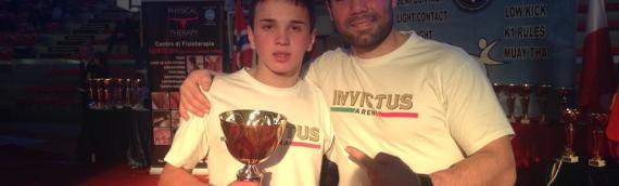 Un week end di successi per i ragazzi del Team Invictus