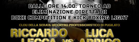 Boxe, 25 Aprile 2014: Riccardo Lecca vs Luca Arrigo (Stazione Birra)