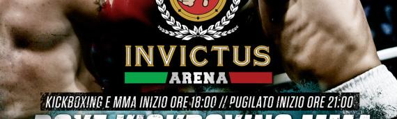 Invictus Arena 7: a Luglio un grande evento gratuito a Piazza Re di Roma